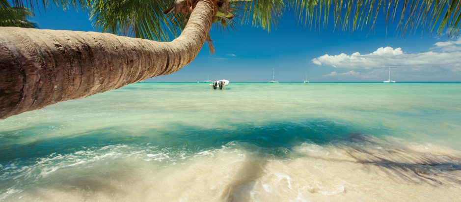 Relax on tropical beaches and enjoy the warm sands and clear water