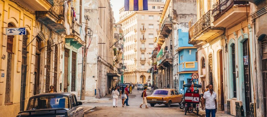 Cuba is a country of contrasts and a country having a feel of the past