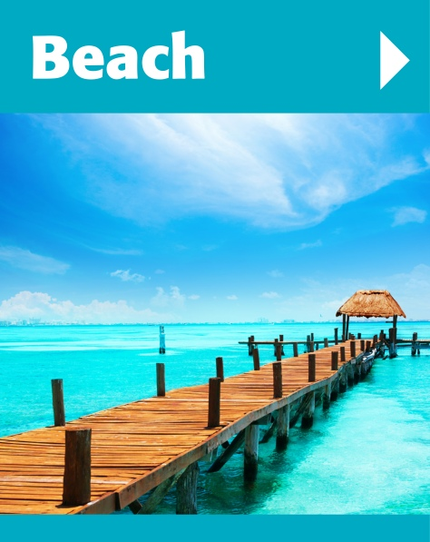 We offer a range of relaxing beach holidays including the Carribean