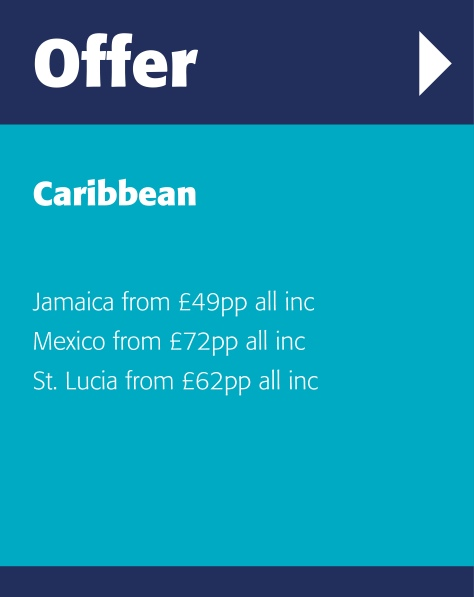Latest deals and prices for holiday destinations in the Caribbean
