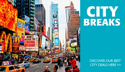 Choose one of our city breaks and enjoy city vibrancy