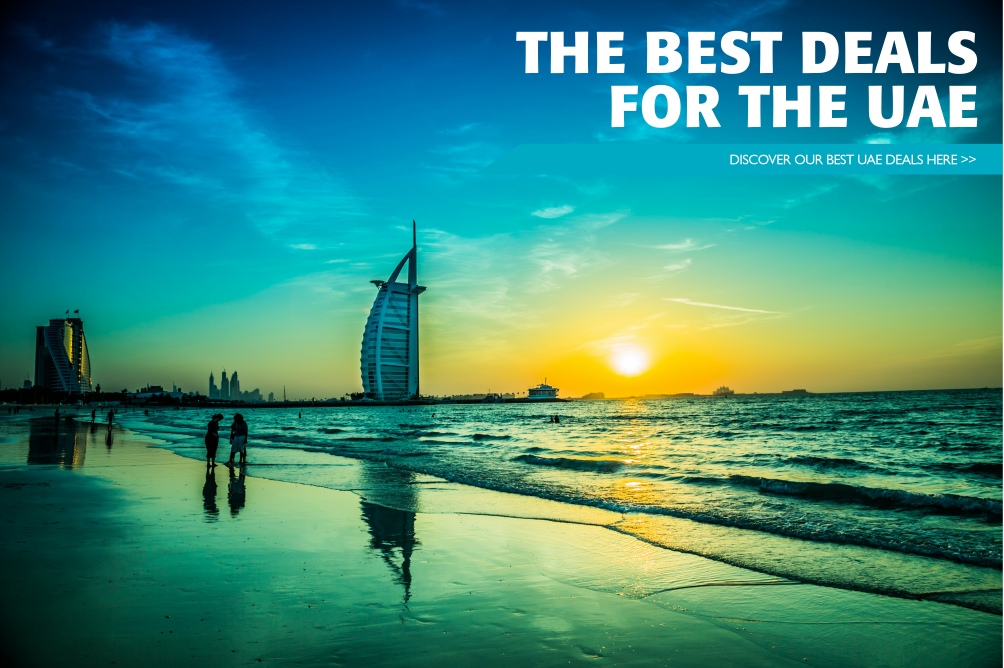 The very best travel deals to the UAE, we cover all major centres of the United Arab Emirates UAE