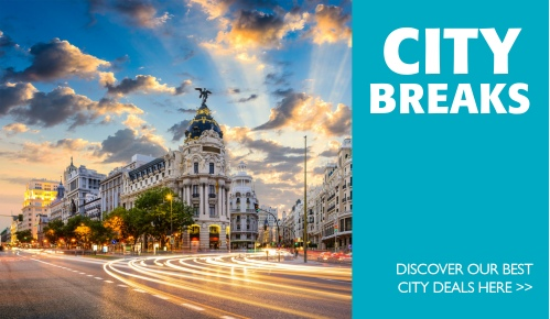 Great deals for city break packages, contact us for more information
